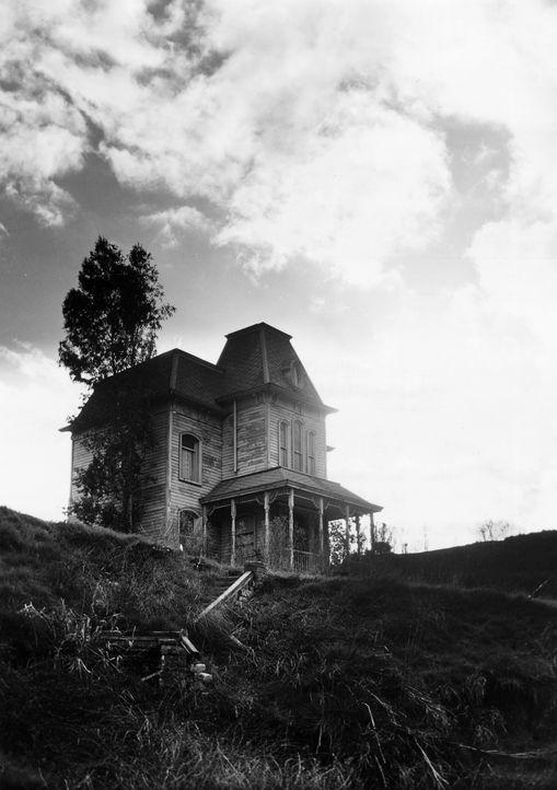 Haus des Grauens: in einem abgelegenen viktorianischen Haus lebt der Motelbesitzer Norman Bates zusammen mit seiner Mutter ? - Bildquelle: 1960 Shamley Productions, Inc. Renewed 1988 by Universal City Studios, Inc. All Rights Reserved.