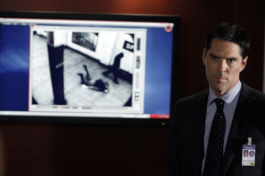 Die Ermittlungen laufen auf Hochtouren: Special Agent Aaron Hotchner (Thomas Gibson) ... - Bildquelle: Cliff Lipson 2008 ABC Studios. All rights reserved. NO ARCHIVE. NO RESALE. / Cliff Lipson