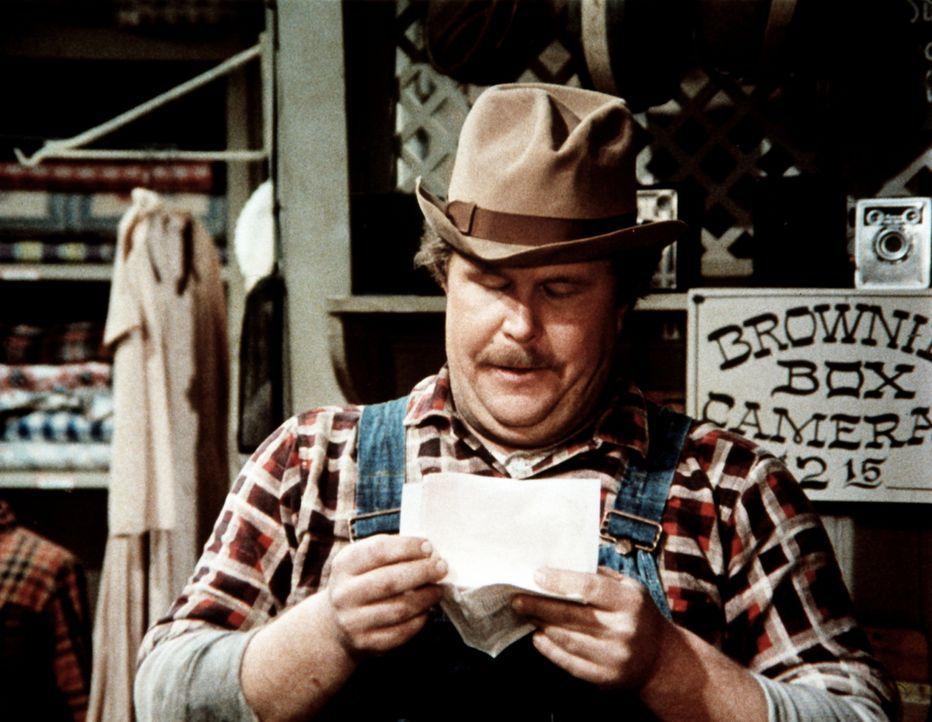 Curtis Norton (Ned Beatty), der Schmied von Waltons Mountain, ist überglücklich: Er hat seiner langjährigen Brieffreundin Anne Harris einen Heiratsa... - Bildquelle: WARNER BROS. INTERNATIONAL TELEVISION