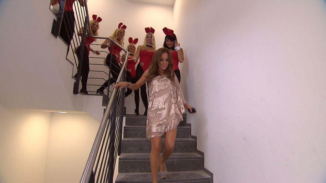 Häschenjagd - Casting für Deutschlands ersten Playboy Club ... - Bildquelle: SAT.1