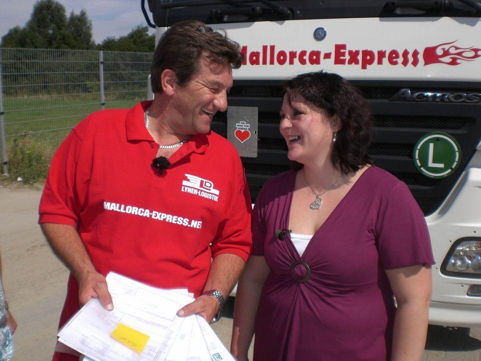 1000 Meilen südwärts: mit dem Bier-Truck nach Mallorca ... - Bildquelle: SAT.1