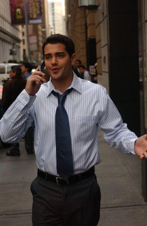 Ein Anruf bei einem Callcenter stellt das Leben des erfolgreichen und attraktiven New Yorkers Granger Woodruff (Jesse Metcalfe) völlig auf den Kopf. - Bildquelle: 2008 OEL Productions, INC. All Rights Reserved.