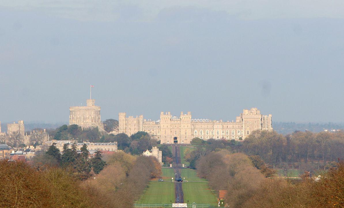 Hinter den Kulissen von Schloss Winsor ... - Bildquelle: Ian Jones HTI  MEDIA