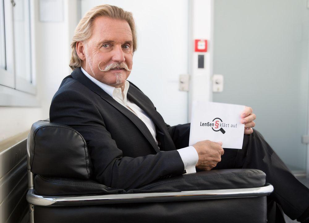 Lässt sich in Sachen Recht nichts vormachen: Anwalt Ingo Lenßen, der in seiner neuen Service-Sendung Rechtsirrtümer aufklärt und sich mit Themen wie... - Bildquelle: Susi Lindlbauer SAT.1 Gold