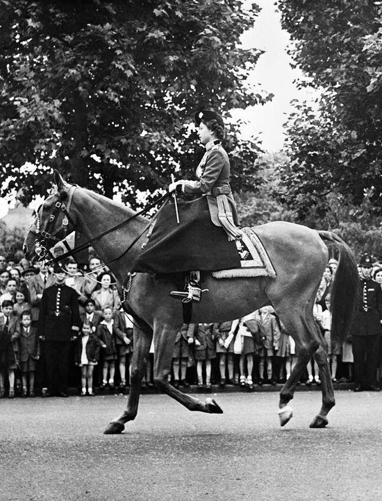 Queen-ElizabethII-1952-06-06-AFP - Bildquelle: AFP