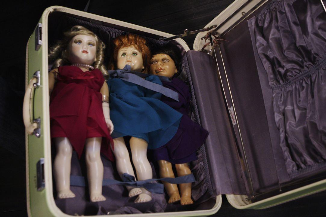 Dienen als Vorlage für die lebendigen Puppen des Täters ... - Bildquelle: Sonja Flemming 2009 ABC Studios. All rights reserved. / Sonja Flemming