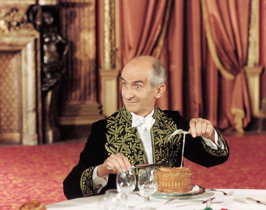 """Herr über die alles entscheidenden Sternchen der französischen Küche: Charles Duchemin (Louis de Funès) ist Verleger des alljährlich erscheinenden """"... - Bildquelle: Kinowelt GmbH"""