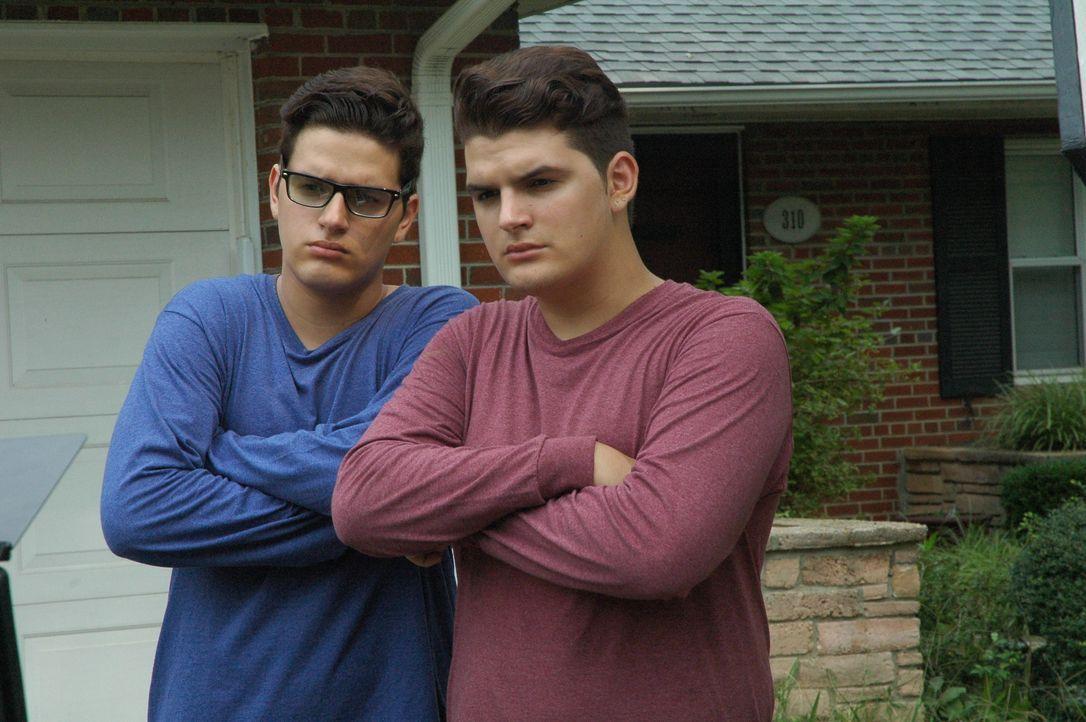 Trotz einer behüteten Kindheit entwickeln Jordan und Simon Gann in ihrer Jug... - Bildquelle: Discovery Communications, LLC.