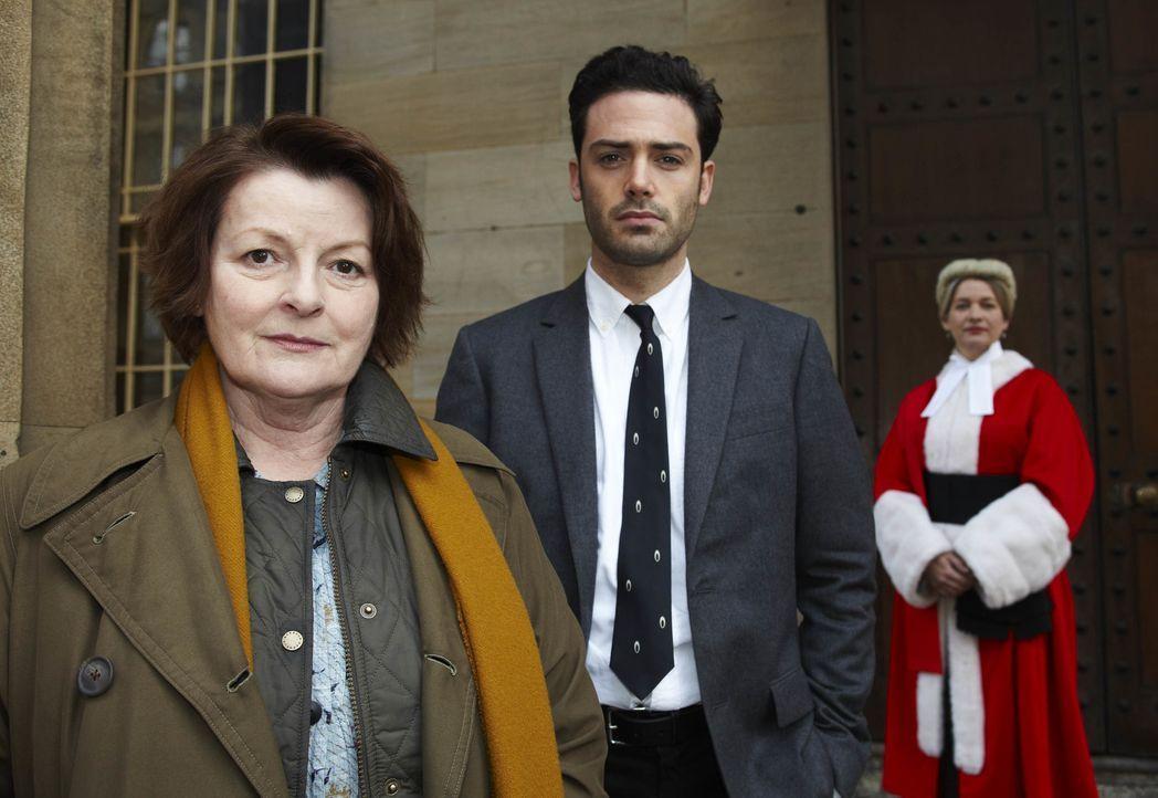 Vera Stanhope (Brenda Blethyn, l.); Joe Ashworth (David Leon, M.) - Bildquelle: Helen Turton ITV Studios / Helen Turton