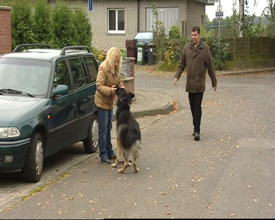 Familie Kosanke hat große Probleme mit ihrem Hund. - Bildquelle: SAT.1 Gold