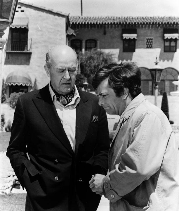 Arthur Kennicutt (Ray Milland, l.); Columbo (Peter Falk, r.) - Bildquelle: 1971 Universal City Studios LLLP. All Rights Reserved.
