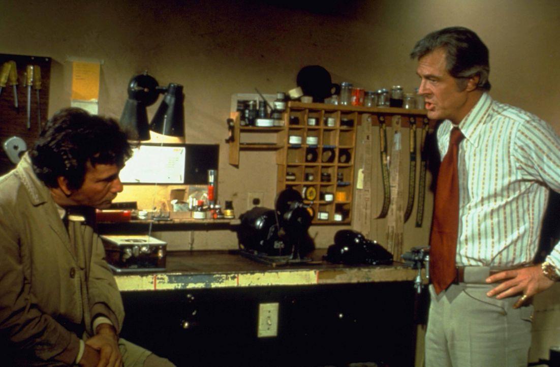 Columbo (Peter Falk, l.); Dr. Bart Kepple (Robert Culp, r.) - Bildquelle: 1973 Universal City Studios LLLP. All Rights Reserved.