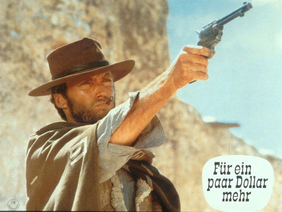 Die beiden ausgebufften Kopfgeldjäger Colonel Mortimer und Monco (Clint Eastwood) sind beide hinter dem gefürchteten mexikanischen Banditen Indio he... - Bildquelle: United Artists