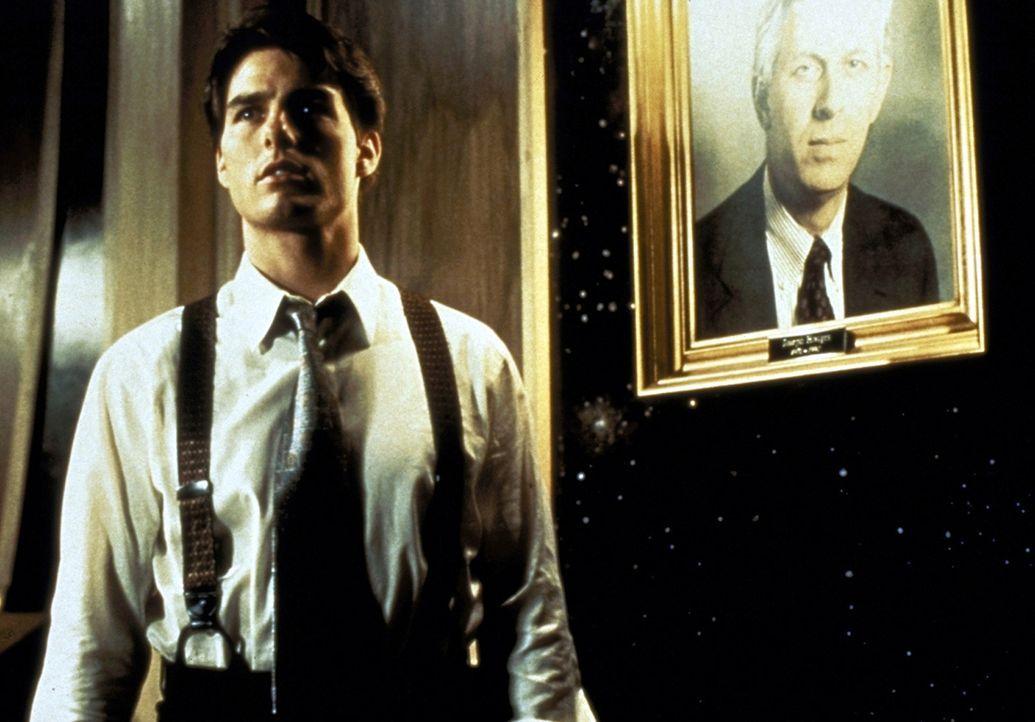 Als Mitch McDerre (Tom Cruise) entdeckt, dass die Kanzlei als eine gigantische Geldwaschanlage für die Mafia in Chicago fungiert, gerät er zwischen... - Bildquelle: Paramount Pictures