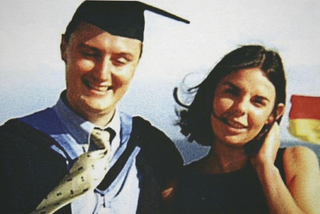 Begeben sich auf eine gefährliche Reise: Joanne Lees (r.) und Peter Falconio (l.) ...