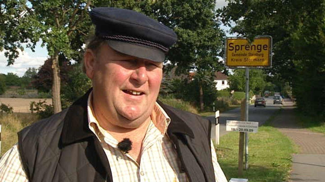 Fast 50 000 Dörfer und Gemeinden gibt es in Deutschland. Wir haben die Menschen in Steinburg kennen gelernt. Steinburg liegt nördlich von Hamburg, b... - Bildquelle: SAT.1