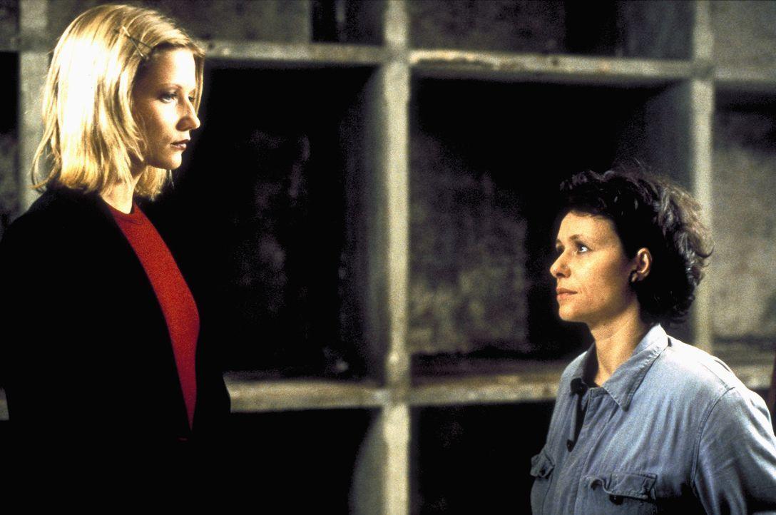 Ehefrau und Geliebte: Plötzlich stehen sich Bibi von Ohlen (Doreen Jacobi, l.) und Christina Löwe (Tamara Rohloff, r.) gegenüber ... - Bildquelle: Ines Gellrich ProSieben