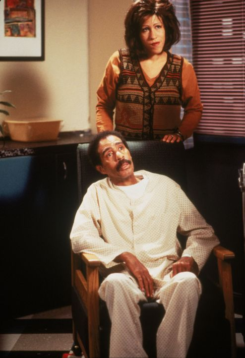 Joe Springer (Richard Pryor, l.); Annie (Rain Pryor, r.) - Bildquelle: 1995 Twentieth Century Fox Film Corporation.  All rights reserved.